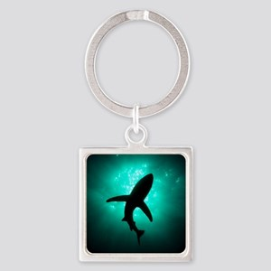 Shark Square Keychain