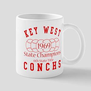 1969 Key West Conchs State Champions. Mug
