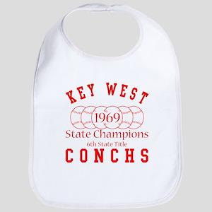 1969 Key West Conchs State Champions. Bib