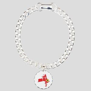 Hurricane Sandy Lineman Charm Bracelet, One Charm