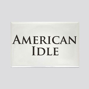 American Idle Rectangle Magnet