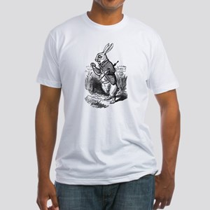 White Rabbit Fitted T-Shirt