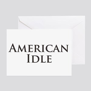 American Idle Greeting Cards (Pk of 10)