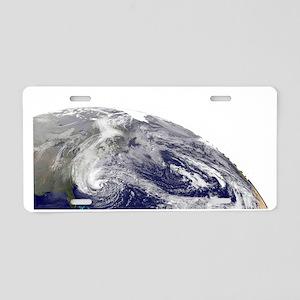 Superstorm Sandy Survivor Aluminum License Plate