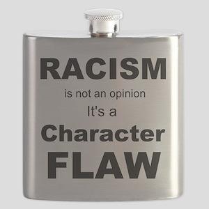 Racism blk Flask