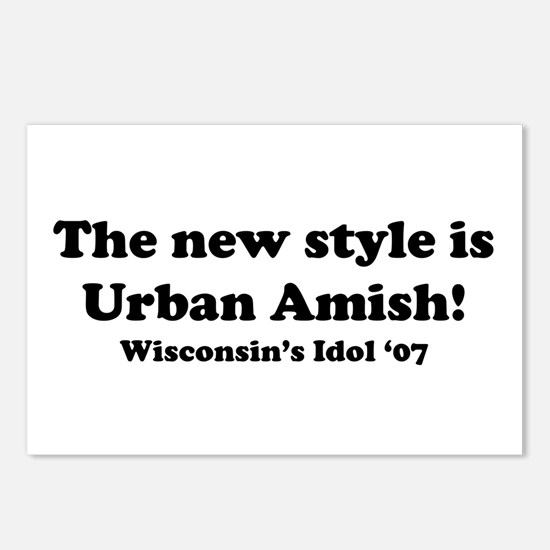 Urban Amish Wisconsin Postcards (Package of 8)