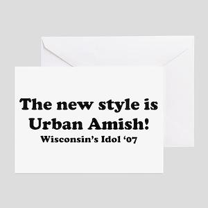 Urban Amish Wisconsin Greeting Cards (Pk of 10
