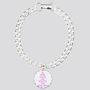 Keep Calm and Watch The  Charm Bracelet, One Charm