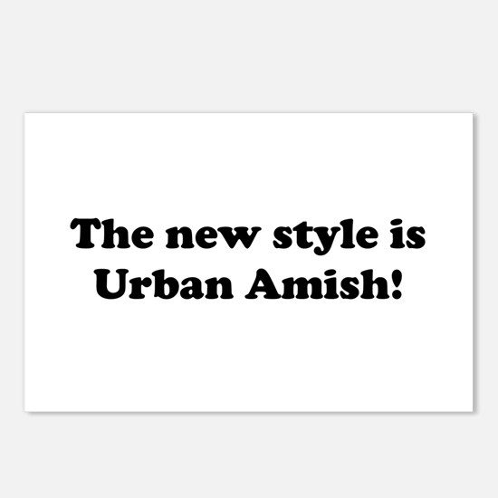Urban Amish Postcards (Package of 8)