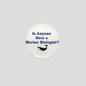 Marine Biologist Mini Button