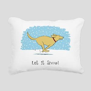 snowdogCP Rectangular Canvas Pillow