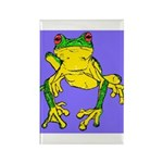 Red Eyed Tree Frog Rectangle Magnet (100 pack)