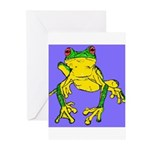 Red Eyed Tree Frog Greeting Cards (Pk of 10)