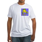 Red Eyed Tree Frog Fitted T-Shirt