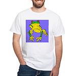 Red Eyed Tree Frog White T-Shirt