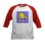 Red Eyed Tree Frog Kids Baseball Jersey