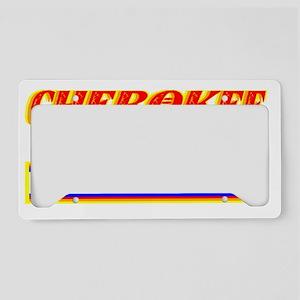 CHEROKEE TRIBE License Plate Holder