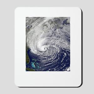 Hurricane Sandy Mousepad