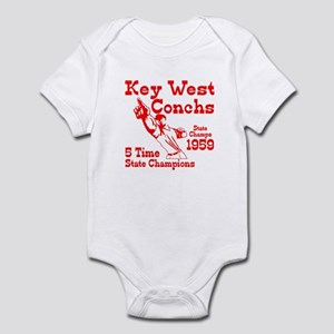 1959 Key West Conchs State Champions Infant Bodysu
