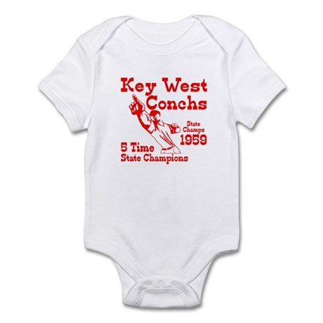 1959 Key West Conchs State Champions Infant Bodysu