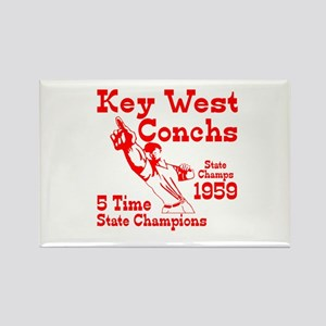 1959 Key West Conchs State Champions Rectangle Mag