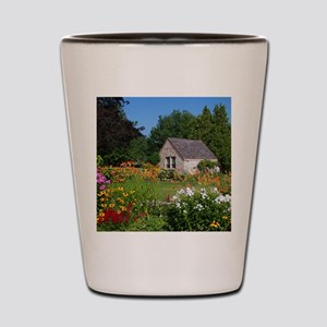 Country Garden Cottage Shot Glass