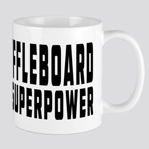 Shuffleboard Is My Superpower Mug