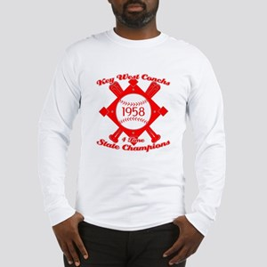 1958 Key West Conchs State Champions Long Sleeve T