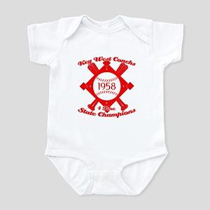 1958 Key West Conchs State Champions Infant Bodysu