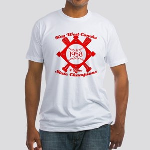 1958 Key West Conchs State Champions Fitted T-Shir