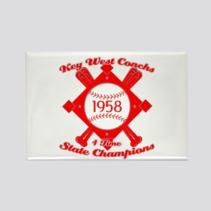 1958 Key West Conchs State Champions Rectangle Mag