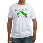 USB Storage Capacity Fitted T-Shirt