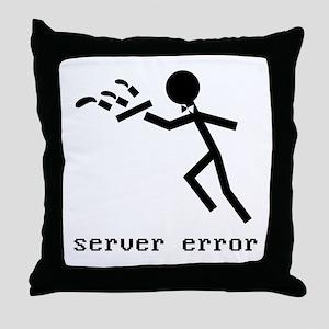 server error Throw Pillow