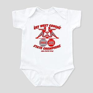 1956 Key West Conchs State Champions Infant Bodysu