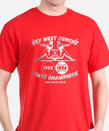 1956 Key West Conchs State Champions T-Shirt