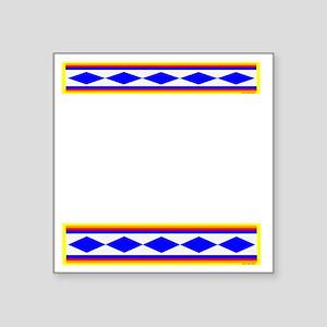"CHEROKEE TRIBE Square Sticker 3"" x 3"""