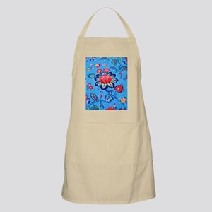 Blue Jacobian Pattern Apron