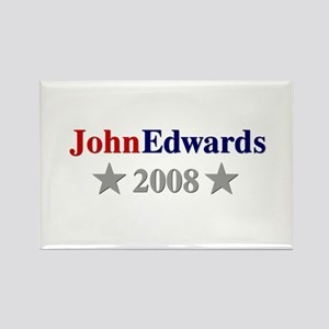 ::: John Edwards - Simple ::: Rectangle Magnet