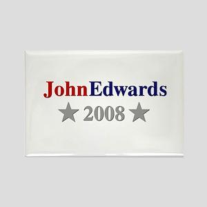 ::: John Edwards - Simple ::: Rectangle Magnet