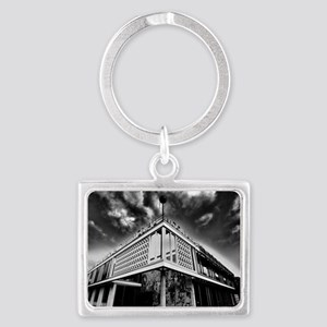 Cafe Moscow Berlin Landscape Keychain