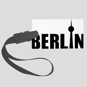 Berlin Large Luggage Tag