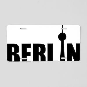 Berlin Aluminum License Plate
