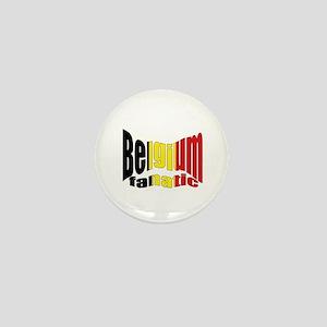 Belgium colors flag Mini Button