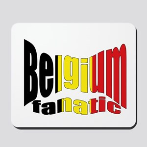 Belgium colors flag Mousepad