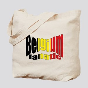 Belgium colors flag Tote Bag