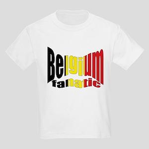 Belgium colors flag Kids T-Shirt
