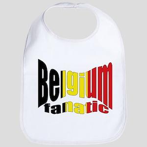 Belgium colors flag Bib