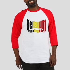 Belgium colors flag Baseball Jersey