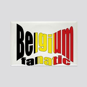 Belgium colors flag Rectangle Magnet