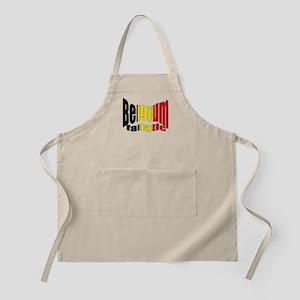 Belgium colors flag BBQ Apron